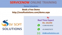 SV Soft Solutions provides best Servicenow Training in Hyderabad. Training gives trainees online sessions and hands on experience implementing servicenow and covers all real time scenarios with examples. 