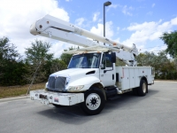 2003 International DT466 Altec 55 foot Bucket Truck
