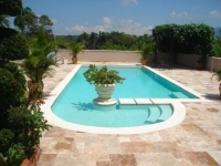 We build custom swimming pools in the Dominica Republic www.DominicanPools.com