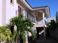 Studio apartment with A/C available near the centre of Sosua in a small apartment block on a quiet street off Pedro Clisante. US$325 per month plus electricity. Free wireless internet. TV, Kitchen utensils, bedding, towels etc provided. Cleaning 1/week (incl. bedding and towels). Gated and secure with on-site caretaker. Electricity 24x7 with inverter backup. Visit wwww.sosuaapartamentos.yolasite.comor email info@sosuaapartamentos.com